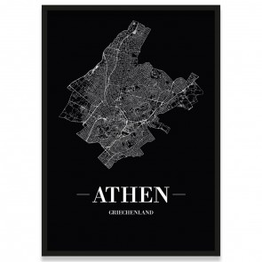 Bilderrahmen Athen Poster