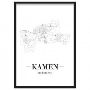 Stadtposter Kamen