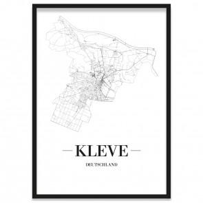 Stadtposter Kleve