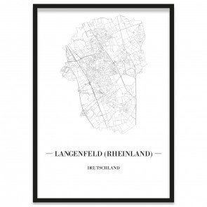 Stadtposter Langenfeld (Rheinland)