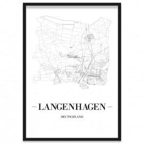 Stadtposter Langenhagen