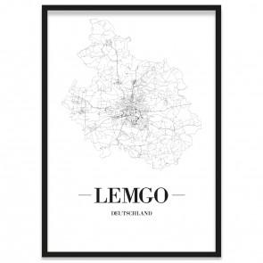 Stadtposter Lemgo
