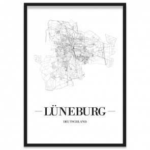 Stadtposter Lüneburg