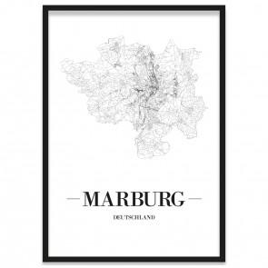 Stadtposter Marburg