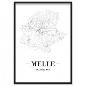 Stadtposter Melle