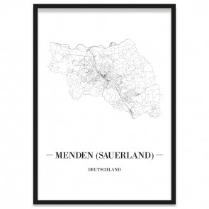 Stadtposter Menden (Sauerland)