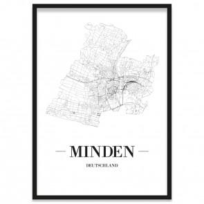 Stadtposter Minden