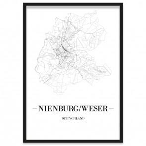 Stadtposter Nienburg/Weser