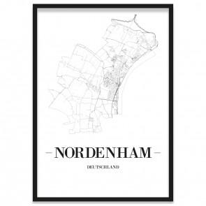Stadtposter Nordenham Bilderrahmen