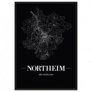 Stadtposter Northeim Straßenplan