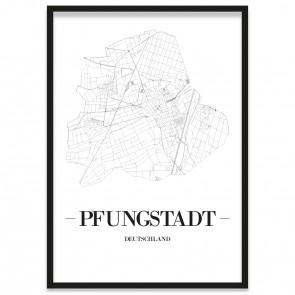 Stadtposter Pfungstadt Rahmen