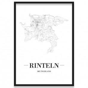 Stadtposter Rinteln Bilderrahmen