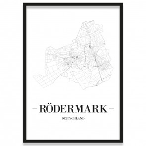 Stadtposter Rödermark Rahmen