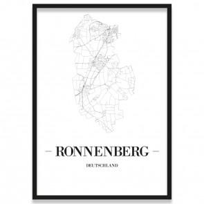 Stadtposter Ronnenberg Rahmen