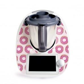 Aufkleber für Vorwerk Thermomix TM6 - Donuts Rosa