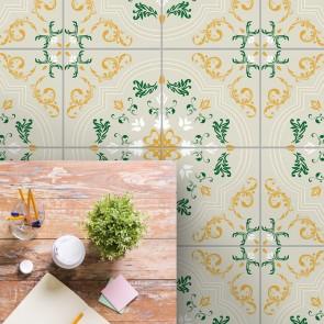 bodenfliesenaufkleber für küche und bad muster mathilda