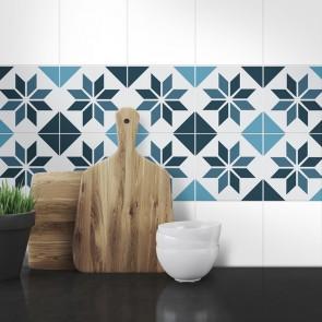 Muster Fliesenaufkleber Arija für die Küche und das Bad