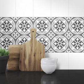 Muster Fliesenaufkleber Jenny für die Küche und das Bad