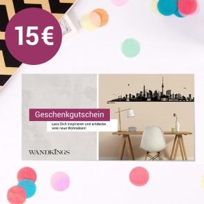 Geschenkgutschein Wandkings 15€