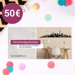 Geschenkgutschein Wandkings 50 €