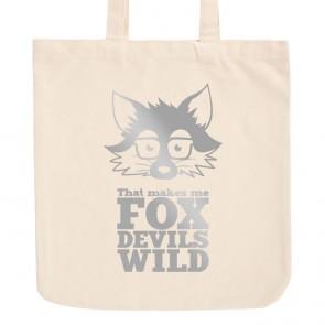 JUNIWORDS Pastell Jutebeutel That makes me Fox Devils Wild
