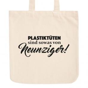 JUNIWORDS Pastell Jutebeutel Plastiktüten sind sowas von Neunziger!