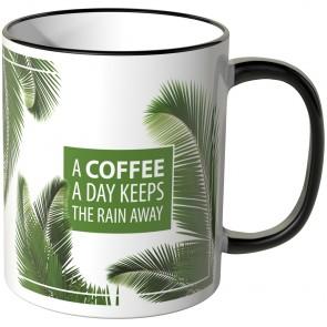 JUNIWORDS Tasse A COFFEE A DAY