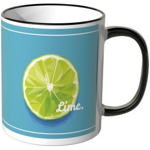 JUNIWORDS Tasse Limette