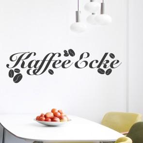 Wandtattoo Kaffee Ecke