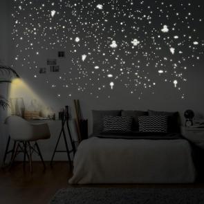 Leuchtaufkleber Geister + Punkte (459 Stück)