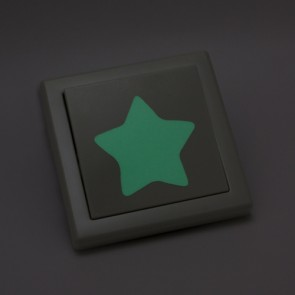 Leuchtaufkleber für Lichtschalter - Sterne