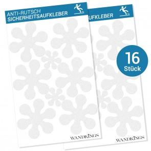Anti-Rutsch-Sticker Blumen