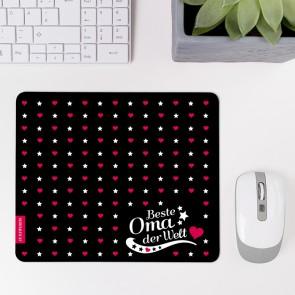 Mousepad Beste Oma - Motiv 1