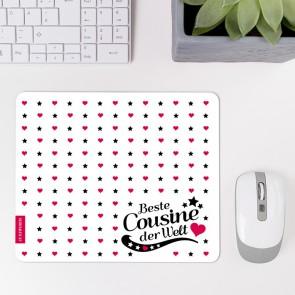 Mousepad Beste Cousine - Motiv 2