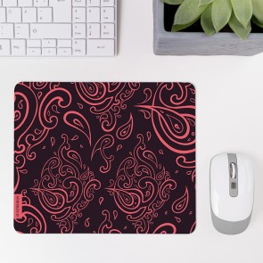 Mousepad Henna Muster Pink