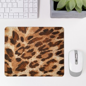 Mousepad Leopardenfell Hell