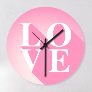 Motiv Uhr Love