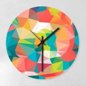 Uhr Crazy Tiles