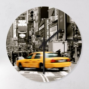Wanduhr Taxi New York