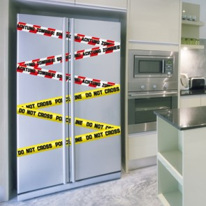 Wandsticker Set XL - Crime Tape