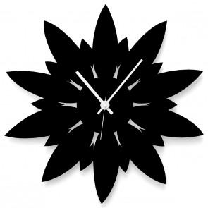 Blume als Uhr
