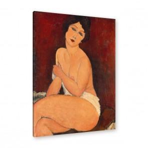 Amedeo Modigliani - Sitzender Akt auf einem Diwan