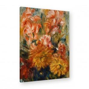 Auguste Renoir - Gladiole in einer blauen Vase
