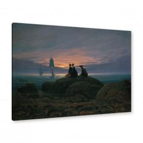 Caspar David Friedrich Gemälde Leinwand