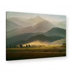 Berglandschaft von Caspar David Friedrich