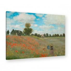 Leinwandbild von Claude Monet an der Wand