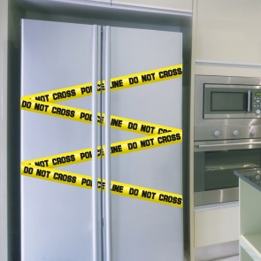 "Wandsticker Set ""DO NOT CROSS"" - Crime Tape"