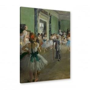 Edgar Degas - die Tanzklasse