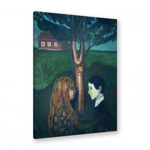 Aug in Aug von Edvard Munch als Leinwandbild