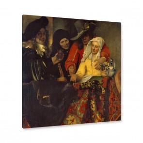Jan Vermeer - bei der Kupplerin